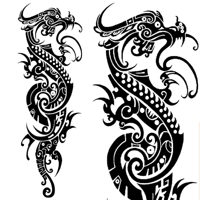 Tribal dragon sleeve