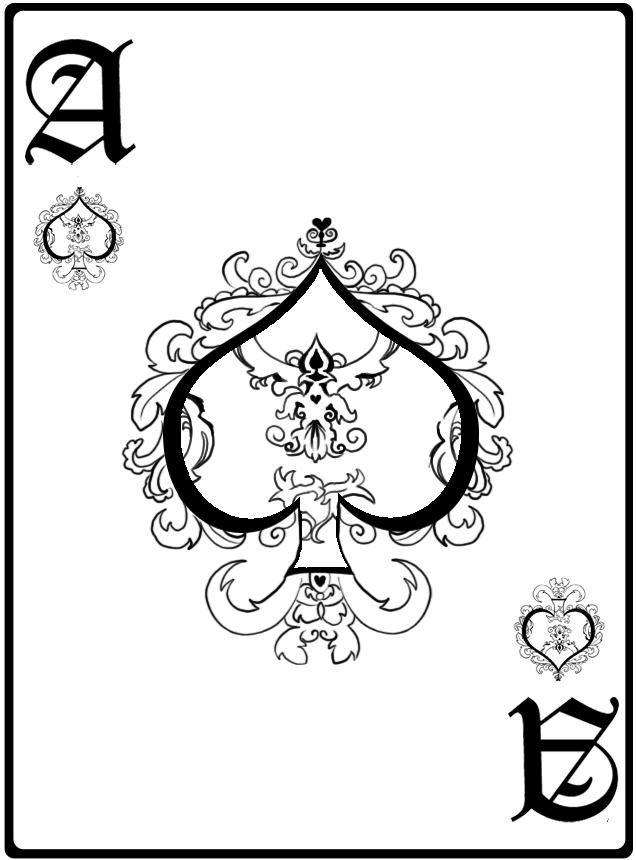 Ace of spades tatt