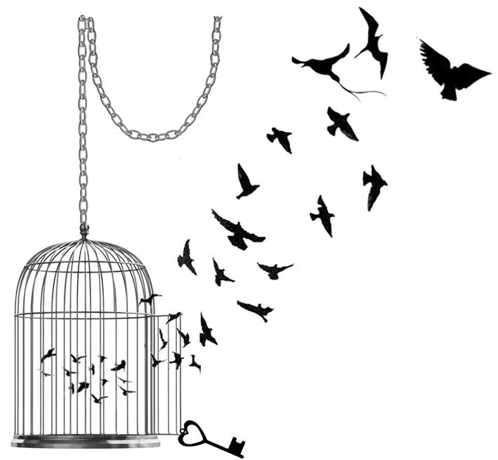 Birdcage1Sil(Med6x5cm)