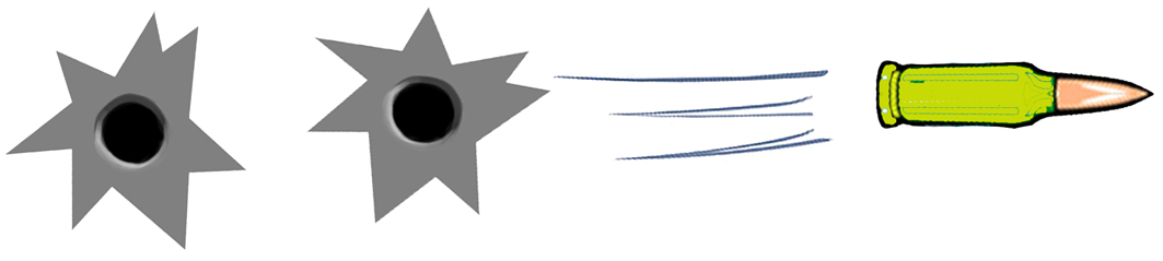 Bulletholes2 (9x2cm)