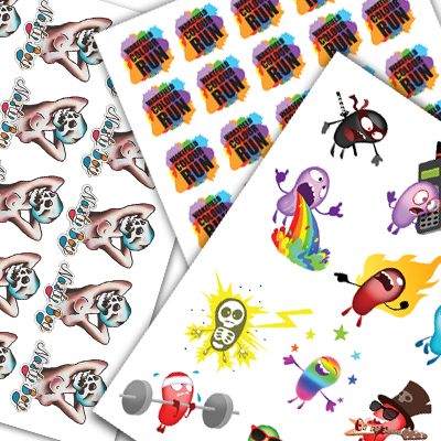 Temporary Tattoo sheets, make your own!