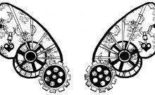 Beautiful clockwork tattoos