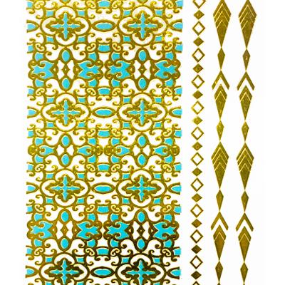 Gold Metallic Tats