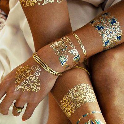 Metallic Tattoo Jewellery