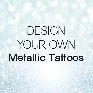 Custom Metallic Foil Temporary Tattoos