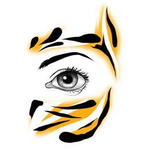 FaceWear Tempting Tiger 1
