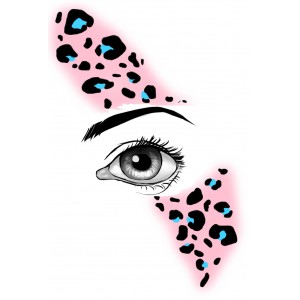 FaceWear Lively Leopard 2