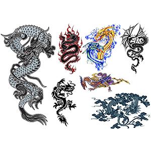 Classic Dragons Set