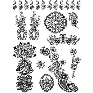 Instant Henna Set