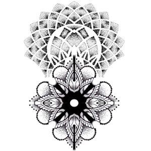 Geometric Arm Tattoo