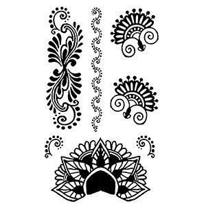 Black Henna Hand Mini Set