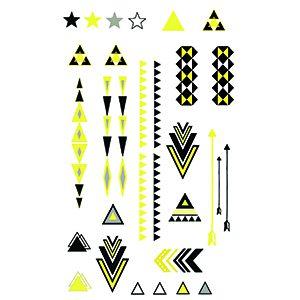 Tribal-Tec Gold/Silver Mini Tattoo Set