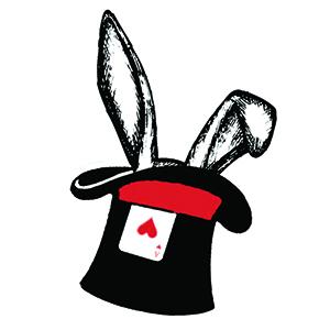 Wonderland Top Hat
