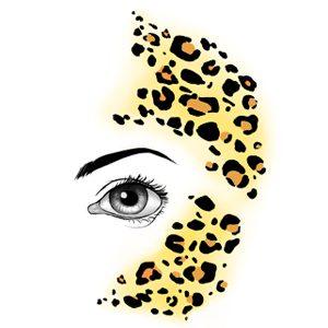 FaceWear Lively Leopard 1