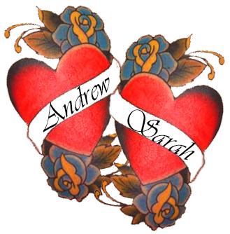 heart fake tattoos