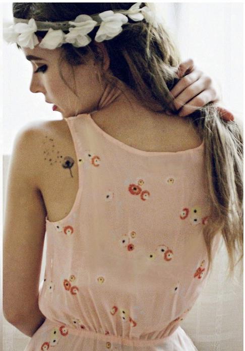 Dandelion tattoo Inkwear