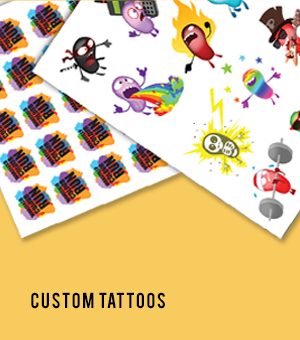 Inkwear Celebrity & Custom Temporary Tattoos