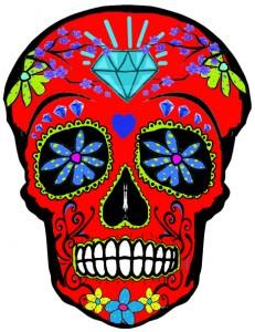 Sugar Skull temp tattoos